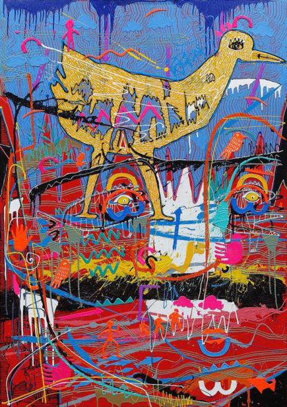 Jakkrit – Painting 94 - 120 x 170 - 35