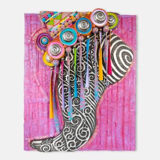 Ongart - Sacred Foot - 100 x 120 - 50