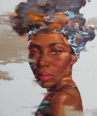 Arthit - Afro 06 - 110 x 130 - 35