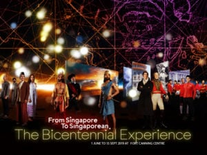 Fort Canning Centre - The Bicentennial Experience 2019
