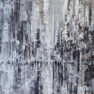 Gittisak - Abstract cityscape 18 - 100 x 100 - 8