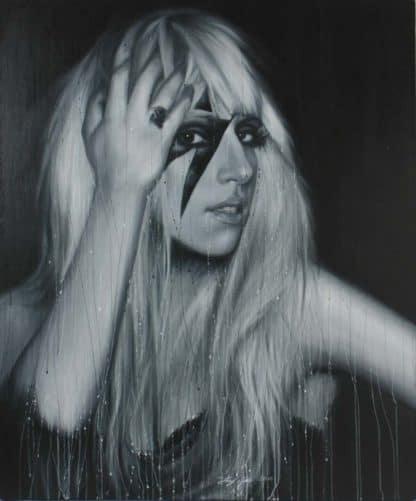 Paitoon - Lady Gaga Portrait - 100 x 120 - 18