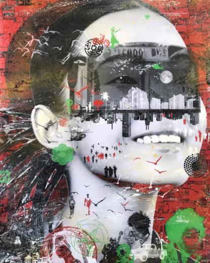 Kee - pop art 30 - 76 x 95 - 17