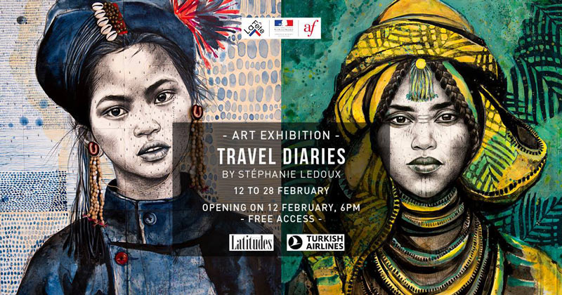 Alliance Francaise de Bangkok - Stephanie Ledoux - Travel Diaries