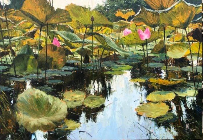 Dusit - Plentiful - oil painting