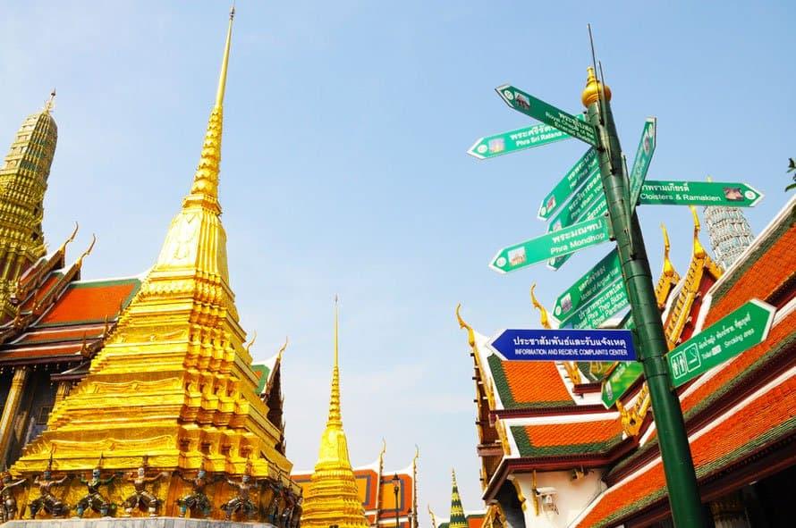 grand palace bangkok wat phra kaew thailand